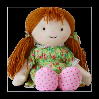 Grelna blazina - igrača Warmies, punčka, zlatolaska ali rjavolaska
