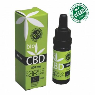 BIO CBD kapljice Darilo narave 800 mg/ 10 ml