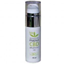 Bio dermatološko mazilo s CBD in arganovim oljem, 30ml