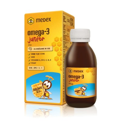 Sirup Omega-3 junior, 140ml