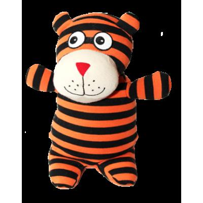 Grelna blazina - igrača Warmies, bombaž, tiger