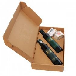 Darilni paket – Domači jabolčni kis, Štajersko prekmursko bučno olje in Solni cvet Piranskih solin