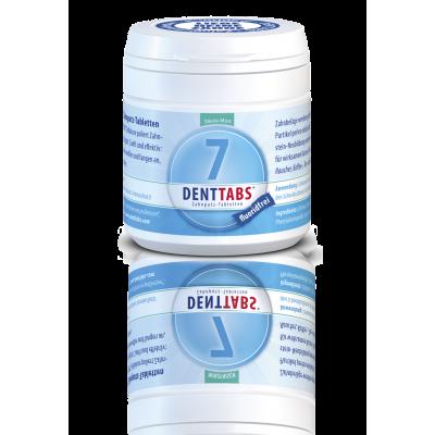 DENTTABS - tablete za čiščenje in poliranje zob brez fluorida