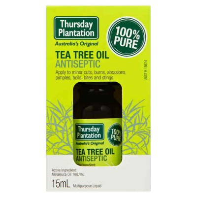 Olje avstralskega čajevca, Tea Tree 100 %, 10 ml