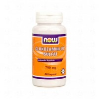 Glukozamin sulfat 750 mg NOW, kapsule