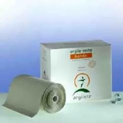 Argiletz terapevtska zelena naravna glina na povojnem traku