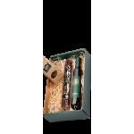 Darilni paket ročno izdelana čokolada Strast in hladno stiskano bučno olje