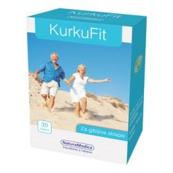 KurkuFit, 30 kapsul s kurkuminom